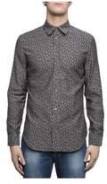 Maison Margiela Men's Grey Cotton Shirt.