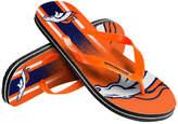 Forever Collectibles Denver Broncos Gradient Big Logo Flip Flops