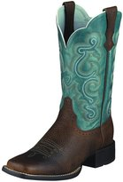 Ariat 4720 Women's Quickdraw Boot Brown Oiled Rowdy