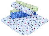 Gerber 5 Pack Receiving Blanket ~ Cars and trucks