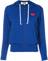 Comme des Garcons zip up hoodie - women - Polyester - S