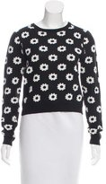 Opening Ceremony Floral Knit Top