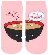 Forever 21 Miso Sleepy Graphic Socks