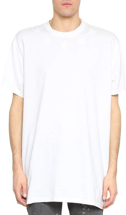 Givenchy Oversized Cotton Stars T-shirt