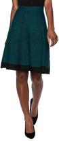 Vila Printed Knit Skirt