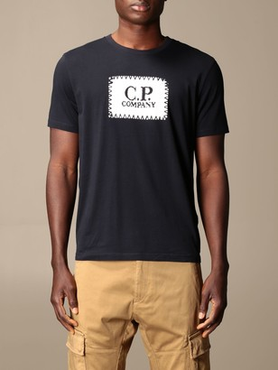 C.P. Company C.p. T-shirt Company In Cotton With Big Logo