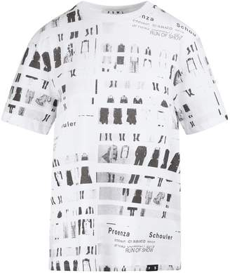 Proenza Schouler White Label Printed t-shirt