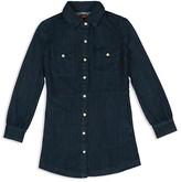 7 For All Mankind Girls' Denim Shirt Dress - Sizes S-XL