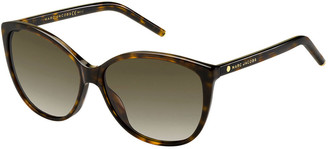Marc Jacobs The Gradient Squared Cat-Eye Sunglasses