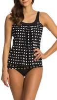 Yacun Women Two piece Swimwear Tankini Sets Swimsuit Top+Bottom L