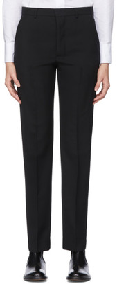 Ami Alexandre Mattiussi Black Wool Tailored Trousers