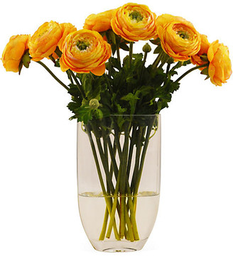 """15"""" Ranunculus in Vase - Faux - The French Bee"""