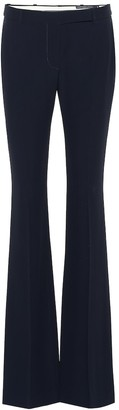 Alexander McQueen Mid-rise flared pants