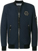 Philipp Plein quilted bomber jacket