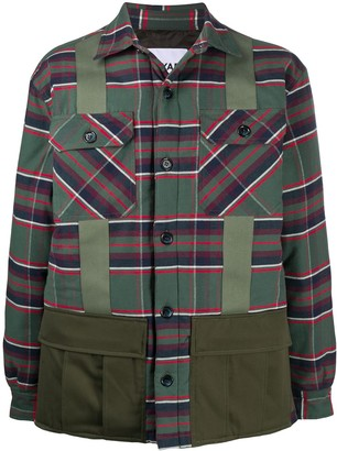 Myar Plaid Shirt Jacket