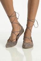 Steve Madden Eleanorr Lace Up Flat Shoes