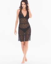 Soma Intimates Ornamental Allover Lace Halter Sleep Chemise