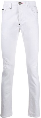 Philipp Plein Super Straight Cut Jeans