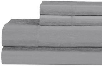 Ella Jayne Heathered 120-Thread Count Cotton-Blend 4-Piece Bedding Set