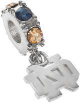 Dayna U Notre Dame Fighting Irish Crystal Sterling Silver Logo Charm