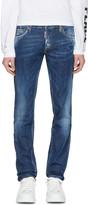 DSQUARED2 Blue Slim Jeans