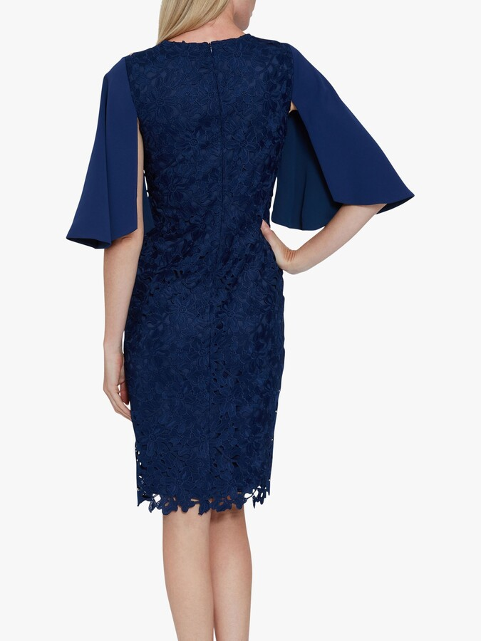 Thumbnail for your product : Gina Bacconi Beth Guipure Lace Dress
