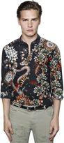 Just Cavalli Desert Garden Printed Cotton Shirt