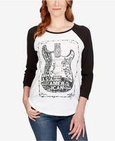 Lucky Brand Raglan-Sleeve Graphic T-Shirt
