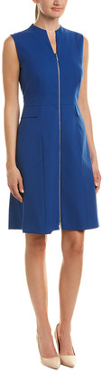 Lafayette 148 New York Carlina Wool-Blend Sheath Dress