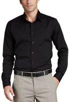 Theory Stretch-Cotton Shirt, Black