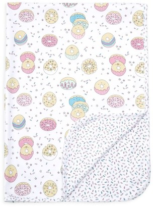 Baby Noomie Donut Print Double Layer Blanket