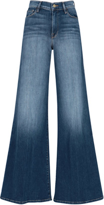 Frame High Waist Flare Denim Pants