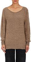 The Elder Statesman Women's Bateau Neck Sweater