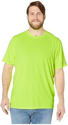 Timberland Big Tall Wicking Good Short Sleeve T-Shirt (Pro Yellow) Men's Clothing
