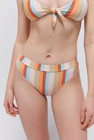 Billabong Rainbow Stripe Maui Bikini Bottom