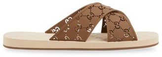 Gucci Men's GG Slide Sandals