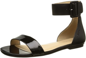 Calvin Klein Women's Jennifer Sandals Black Size: 3.5
