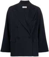 Alberto Biani double-breasted fitted coat