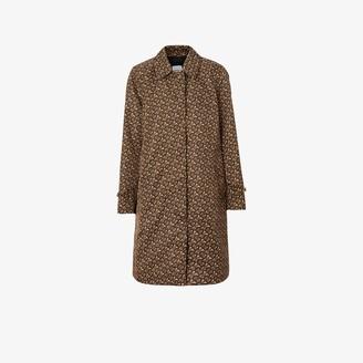 Burberry Keatsbridge single-breasted Monogram print coat