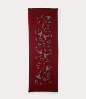 Vivienne Westwood Tits & Penis Stole Red