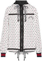 The Upside Witch Mountain Ash Printed Shell Jacket - White