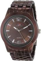 U.S. Polo Assn. Men's Dial Spray Plated Bracelet Watch US8442