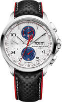 Baume & Mercier M0a10342 Clifton Club Cobra Stainless Steel And Leather Watch