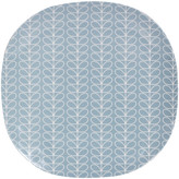 Orla Kiely Linear Stem Blue Large Plate