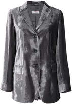 Alberto Biani metallic fitted blazer