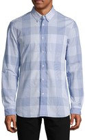 French Connection Regular-Fit Long-Sleeve Checked Shirt