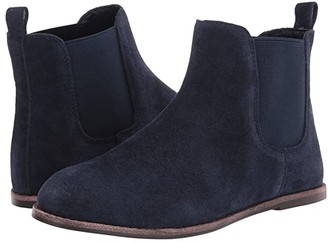 Janie and Jack Chelsea Boot (Toddler/Little Kid/Big Kid) (Navy) Boy's Shoes