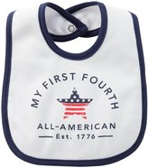 Carter's Baby 4th of July Teething Bib - Cotton - White