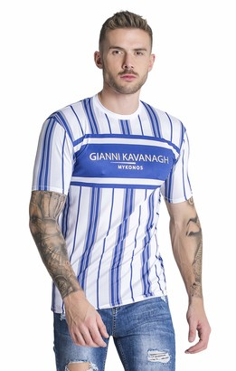 Gianni Kavanagh Men's Blue Mykonos Tee Undershirt XL