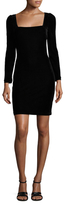 Alexia Admor Velvet Sheath Dress